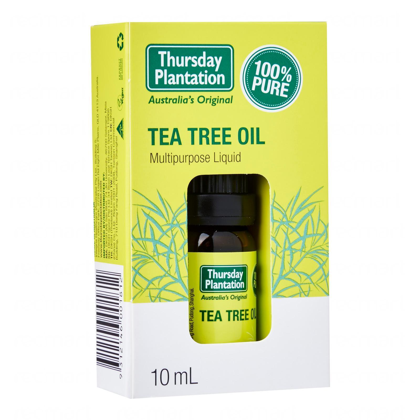 Thursday Plantation Tea Tree Oil 10 Ml - By Medic Drugstore