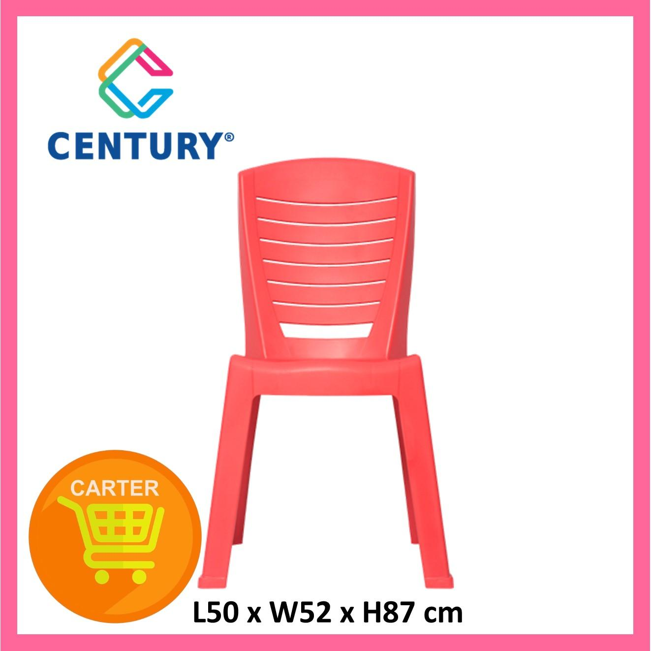 Century 1672 Red Dinner Chair