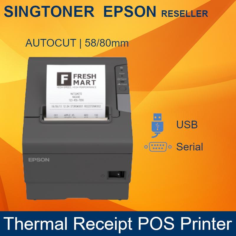 [Original] Epson TM-T88V Thermal POS Receipt Printer (Port: USB+Serial)  tmt88v t88v t88 other