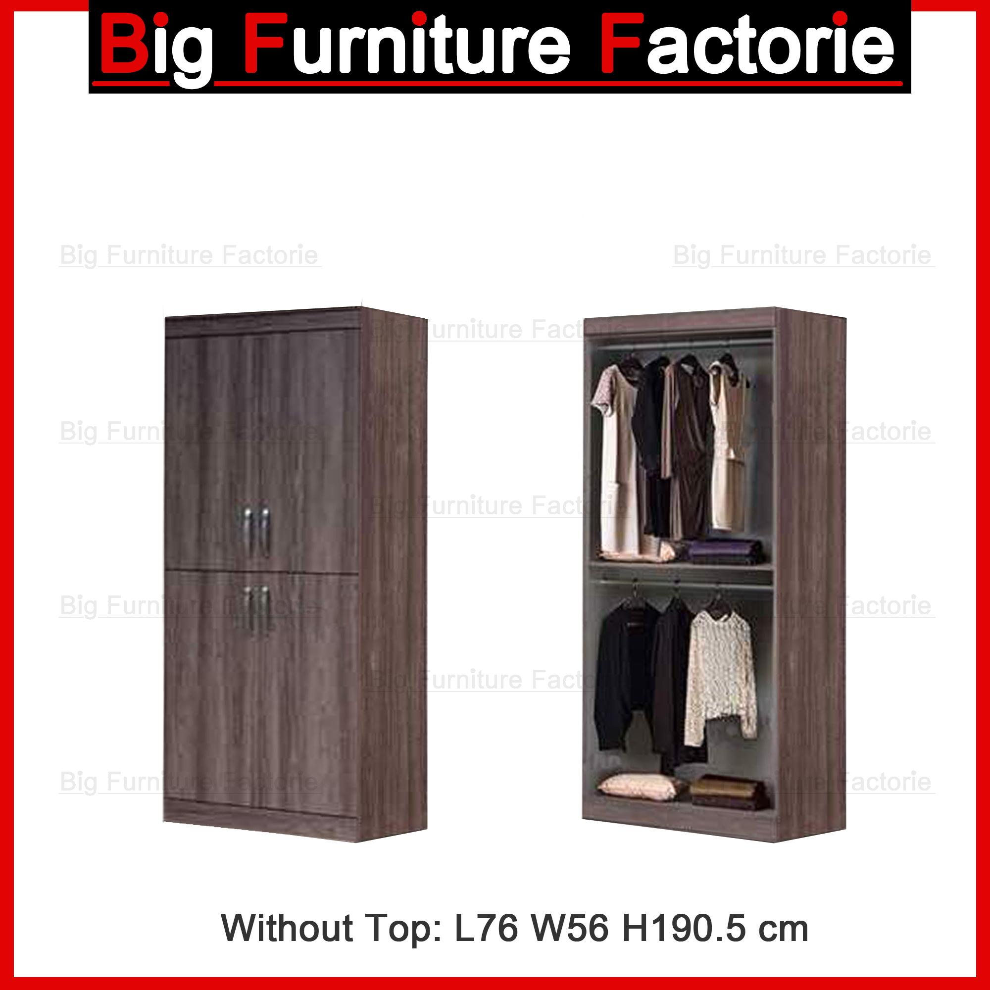 BFF-A5A Two Door Wardrobe no Top