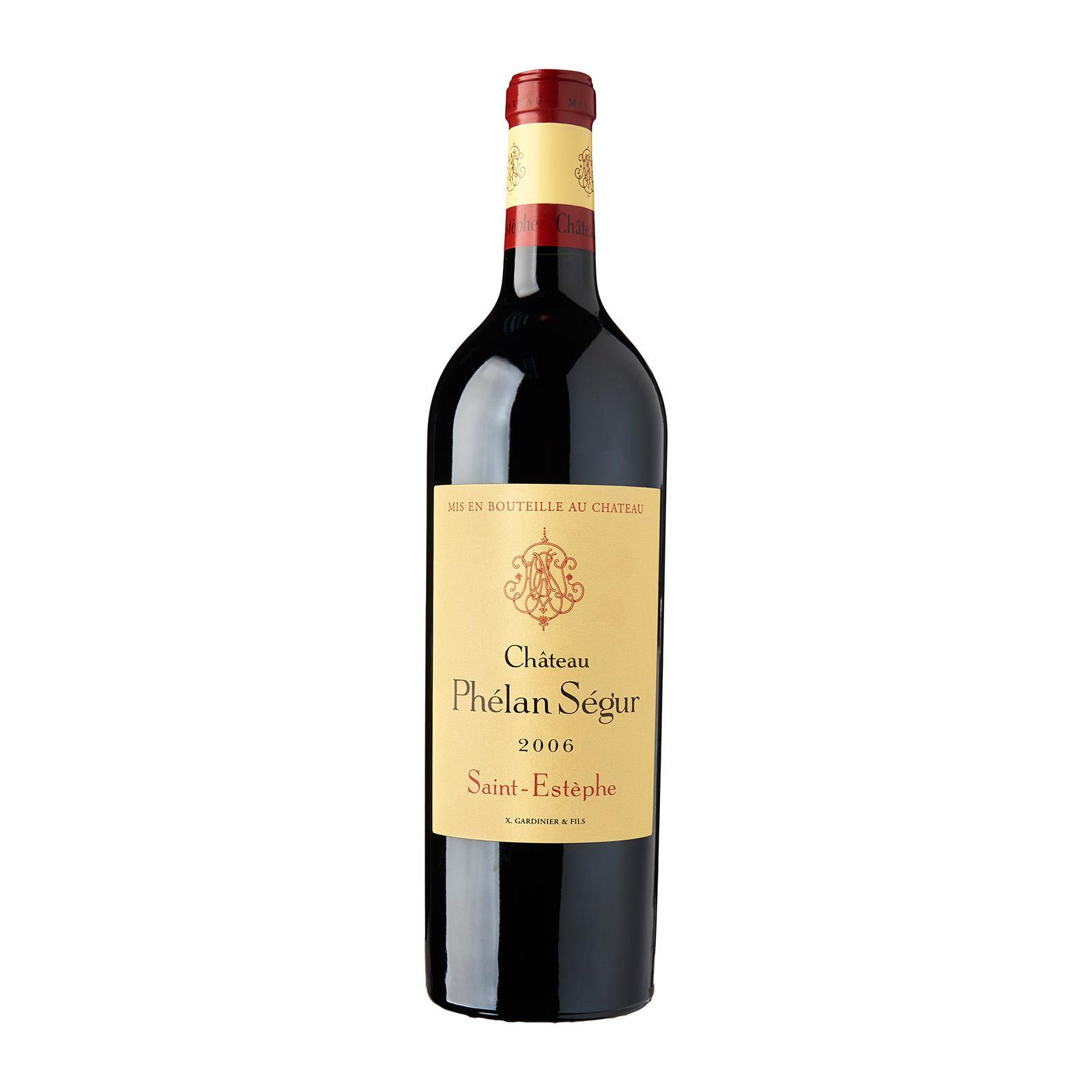 Chateau Phelan Segur - Saint Estephe 2012 - Merlot/Cabernet Sauvignon - Bordeaux - By The Vintage Wine Club