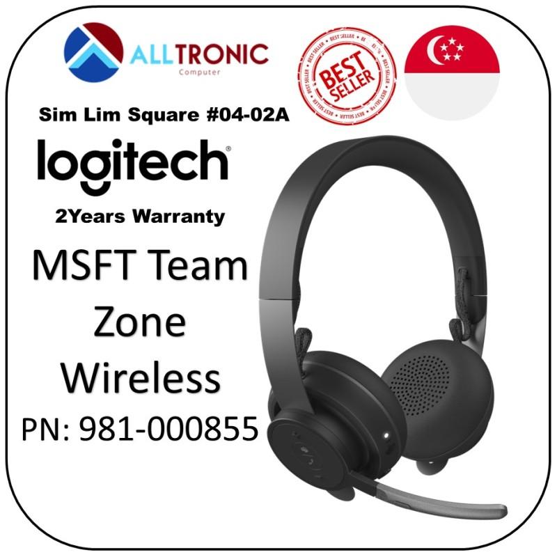 Logitech MSFT Teams Zone Wireless Bluetooth Headset PN: 981-000855  [Alltronic] Singapore