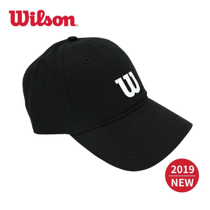 1119bd55a [2019 New Style Words】 Wilson Product Teenager Sports Casual Trend Brim Hat  Spring And
