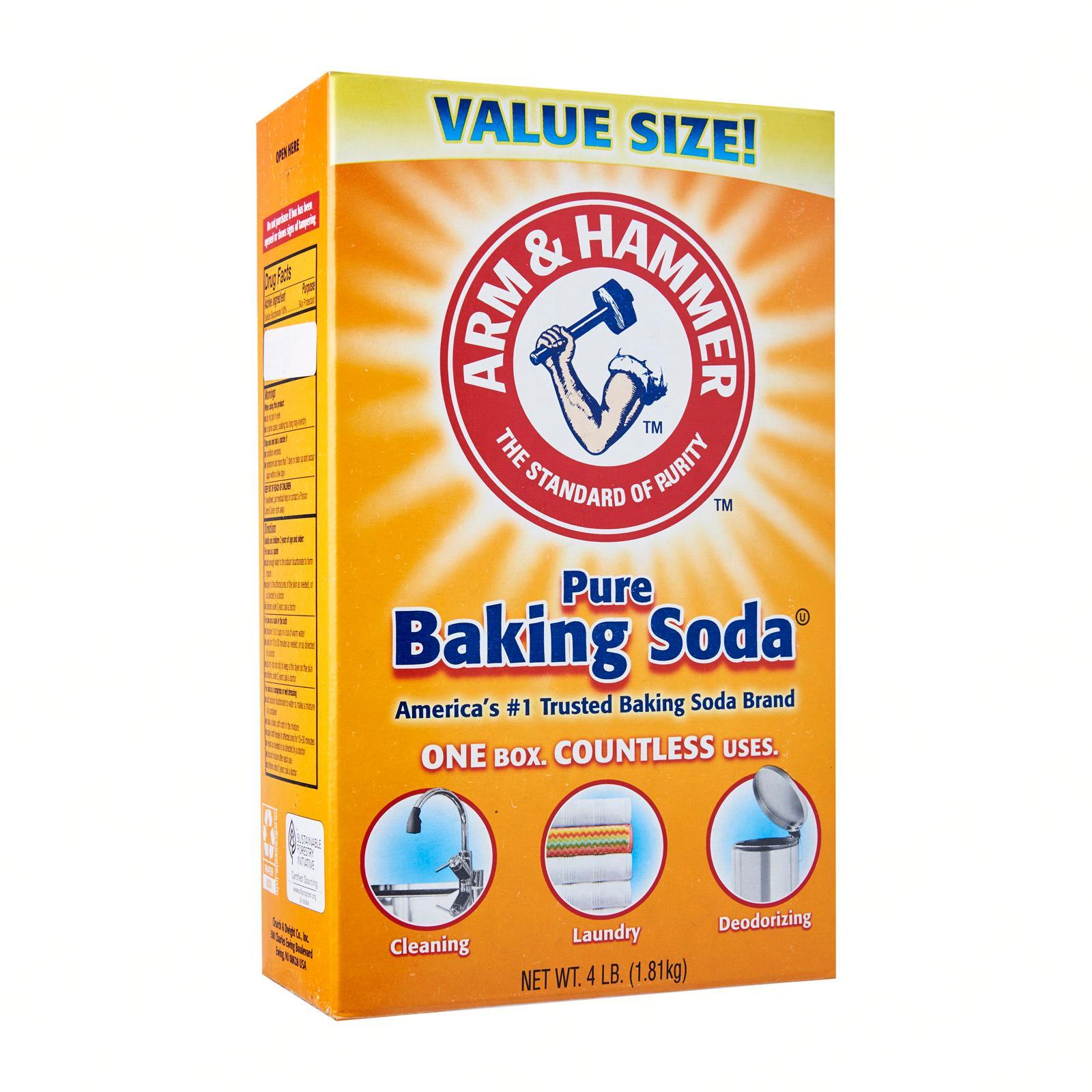 Arm & Hammer 100 - Percent Pure Baking Soda 1.8 KG