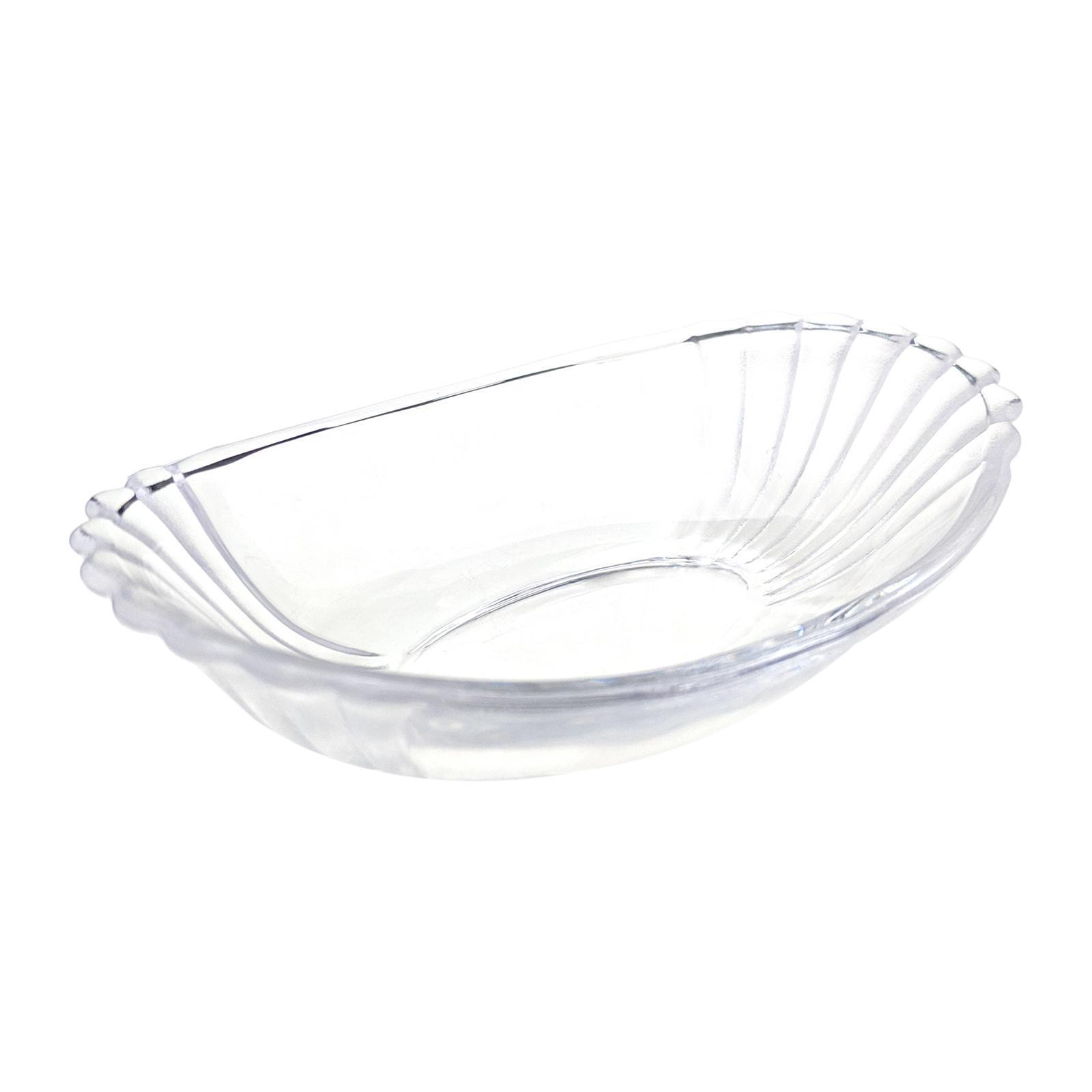 Soga Flandre Oval Glass Dish 4.5 6-PCS Set