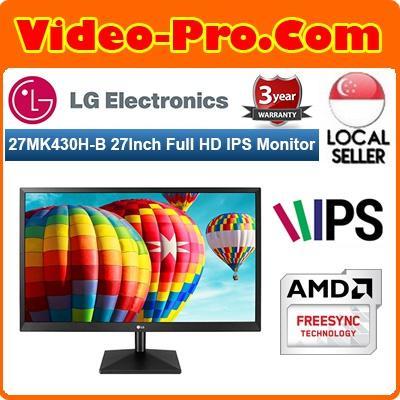 LG 27MK430H 27Inch Full HD IPS LED Monitor with FreeSync