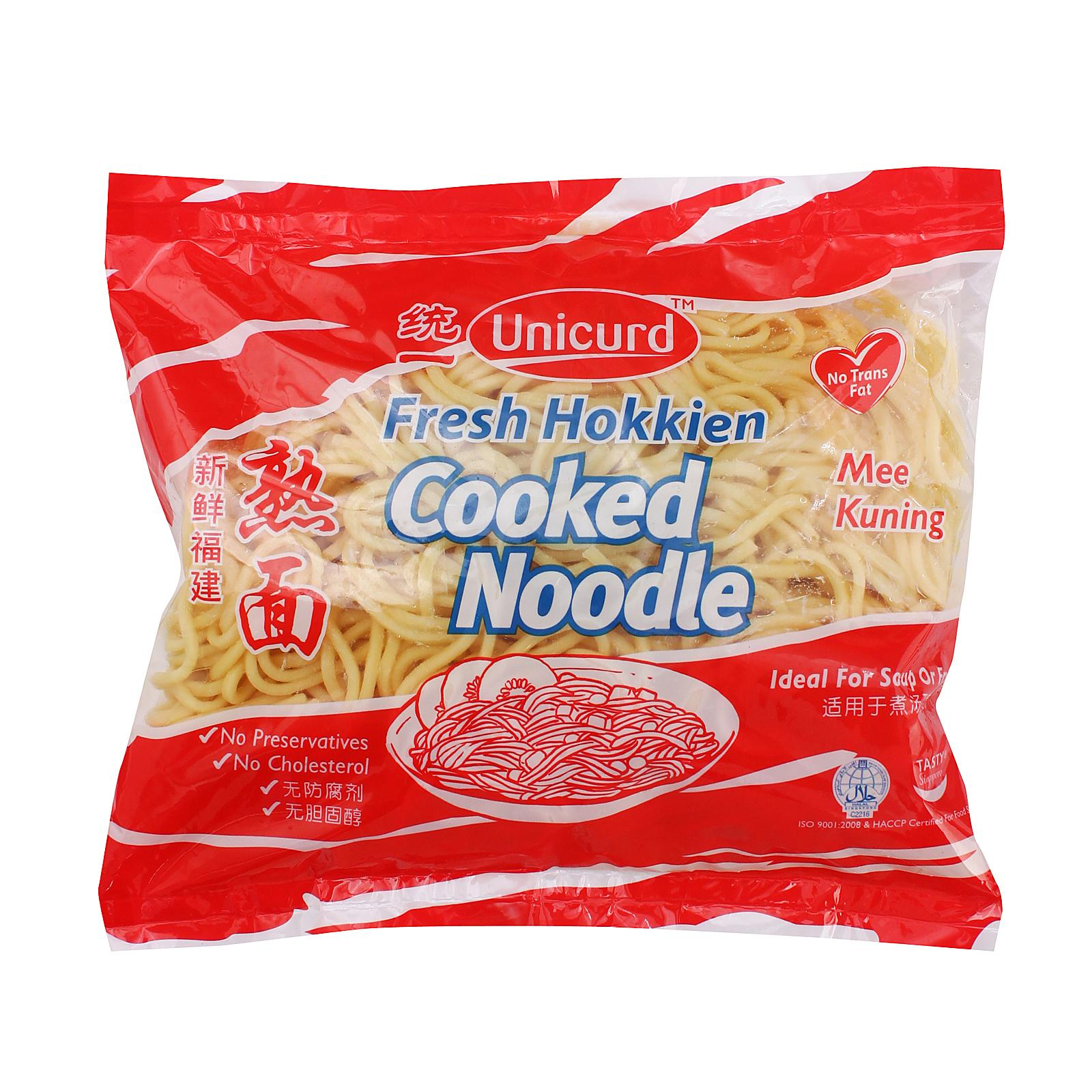 Unicurd Fresh Cooked Noodle By Redmart.