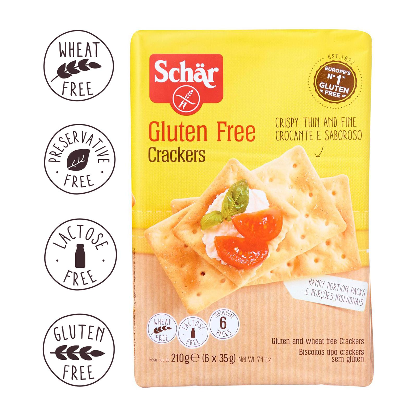 Dr. Schar Crackers - Gluten Free by Agora Products