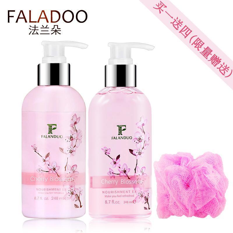 Buy FALADOO Shower Gel Body Lotion Two Piece Set Moisturizing Water Moisturizing SIROSE Large Capacity Refreshing Girls Students Singapore
