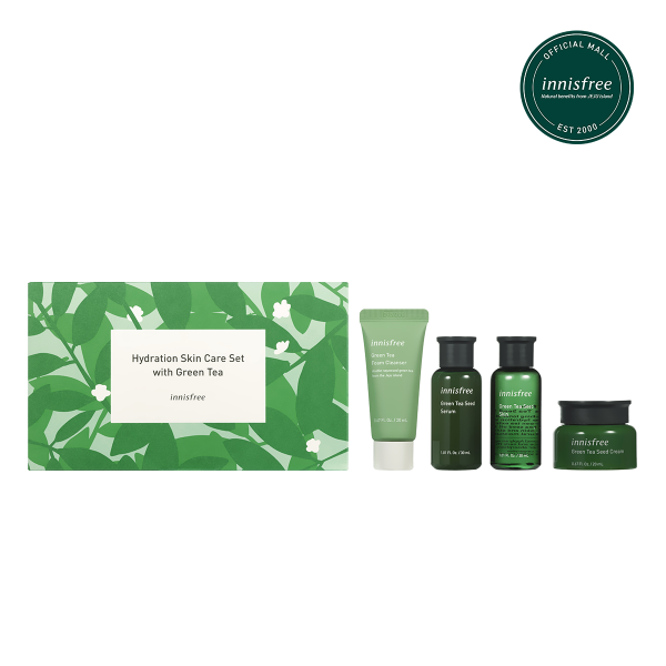 Buy innisfree Hydration Skin Care Set with Green Tea Singapore
