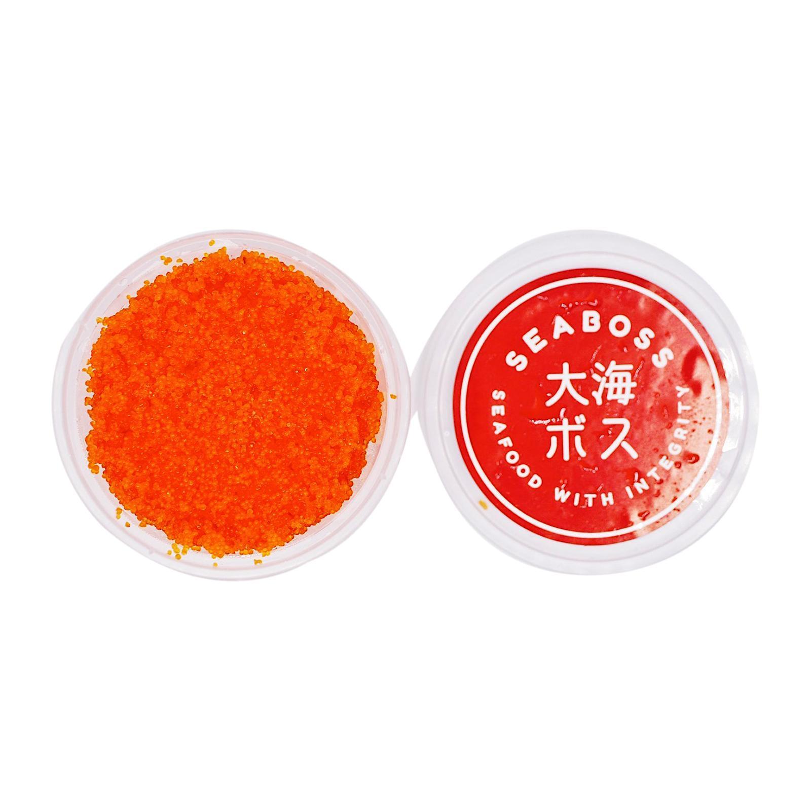 SEABOSS Ebiko (Sashimi-gradeShrimpRoe) - Frozen