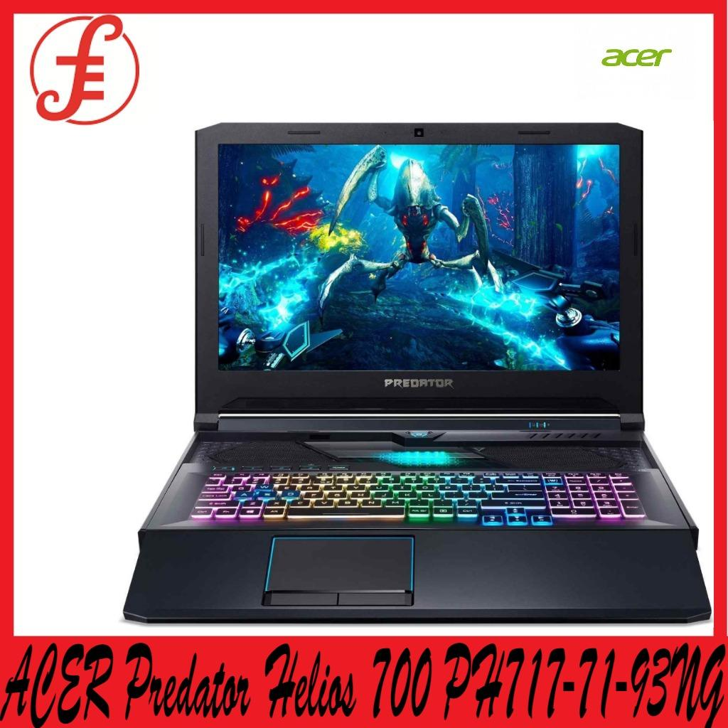 ACER PH717-71-93NG Predator Helios 700 PH717-71-93NG with Overclockable 9th Gen Intel Core i9-9980HK and NVIDIA® GeForce RTX 2070 Gaming Laptop (PH717-71-93NG)