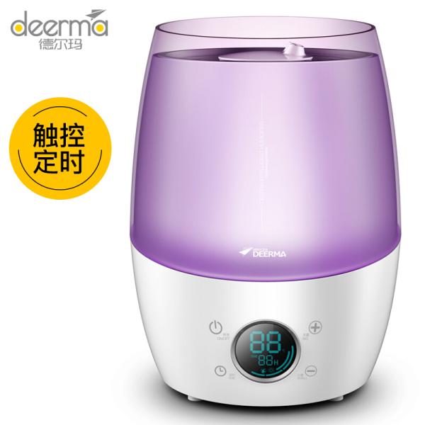 【Stock Clearance Promotion】Deerma DEM-LU100/LU300 4.5L Big Capacity Ultrasonic Humidifier/ Aroma Diffuser/ 3-pin SG Plug/SG Warranty Singapore