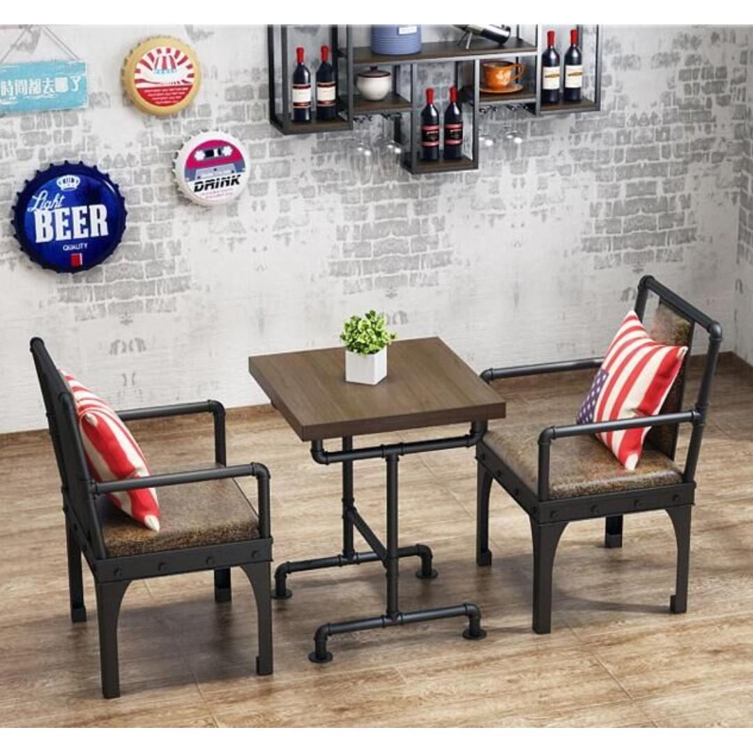 KZ 007 Cafe/Pub/Restaurant Dining Bench with Backrest