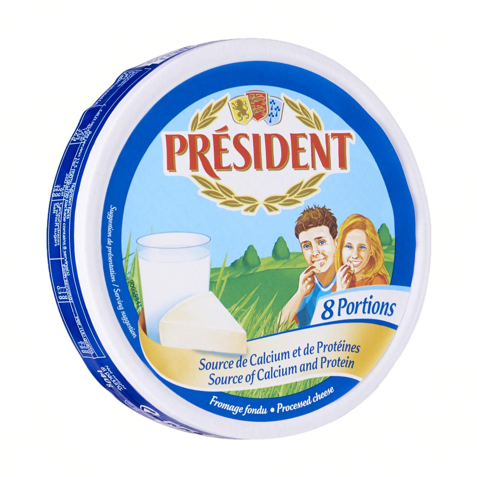 PRESIDENT Cheese Spread 8 portion Cheese Spread