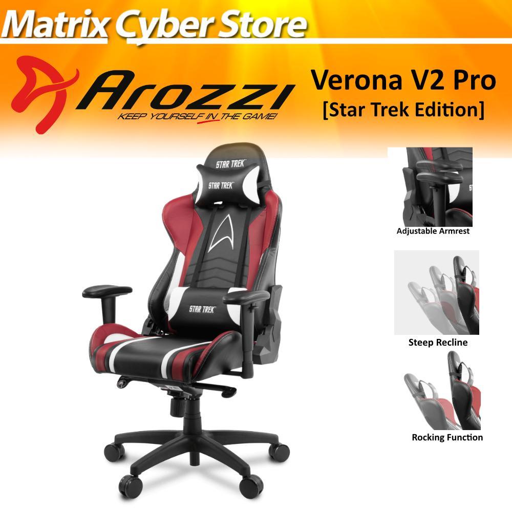 Arozzi Verona Pro V2 Star Trek Edition