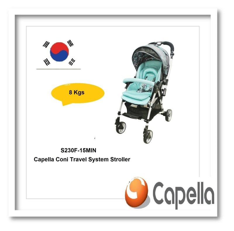 Capella® S230F-15MIN Coni Travel System Stroller Singapore