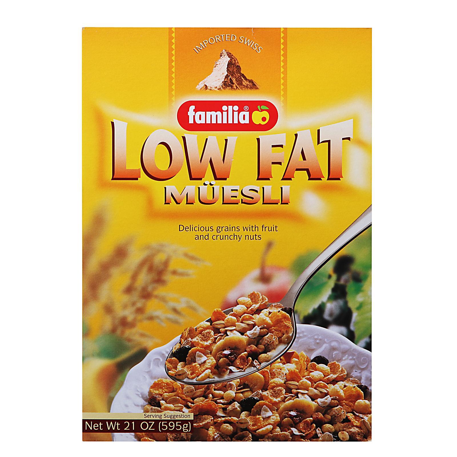 Familia Low Fat Muesli