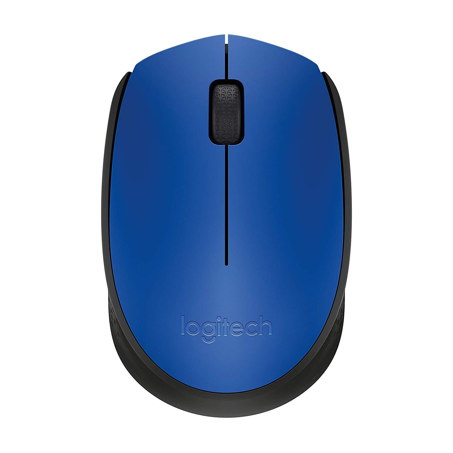 Logitech M170 Wireless Mouse-Blue