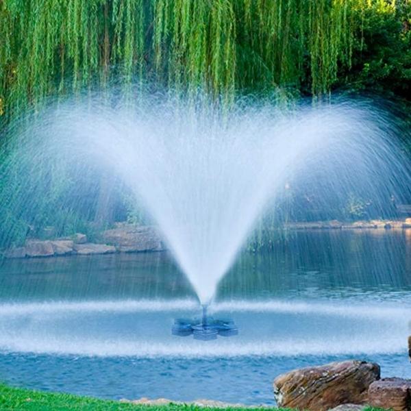 Solar Fountain Pump Solar Powered Bird Bath Fountain Pump Solar Panel Kit Water Pump Outdoor Watering Submersible Pump