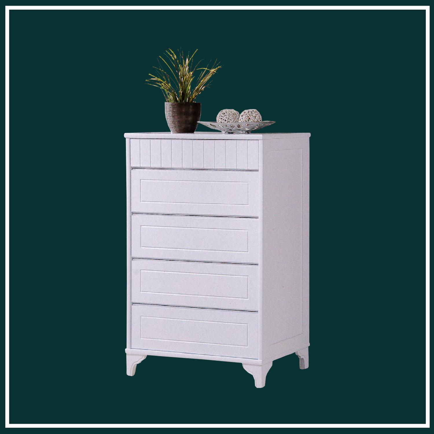LIVING MALL_Kendall 3 Chest Of Drawers_FREE DELIVERY