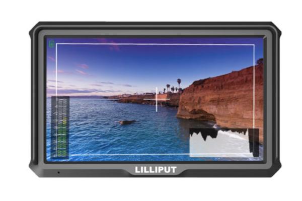 LILLIPUT  A5 -5 inch 4K Camera-top HDMI monitor
