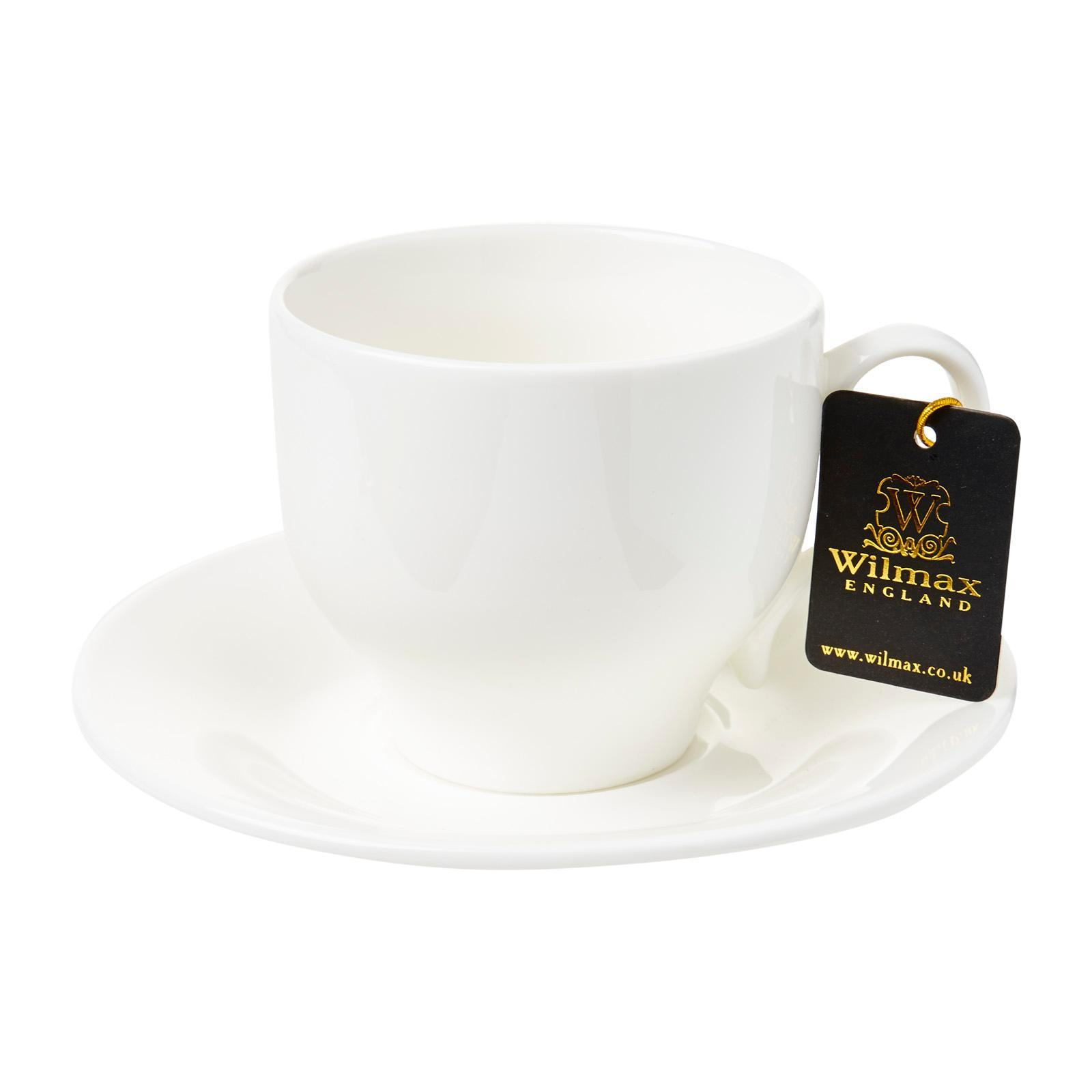 Wilmax Porcelain Cup And Saucer