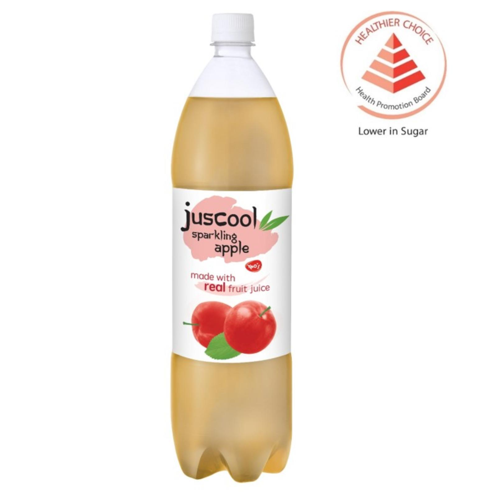 Yeo's JusCool Sparkling Apple Juice Drink