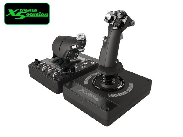 Logitech X56 H.O.T.A.S. RGB THROTTLE AND FLIGHT STICK CONTROLLER Singapore