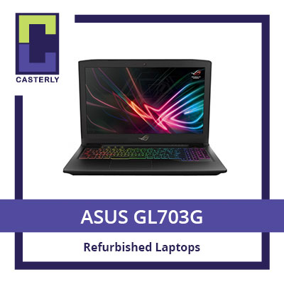[Refurbished] ASUS GL703G / I7-8th Gen /16GB / 256SSD+1TB GTX1070 / 3 Months Warranty