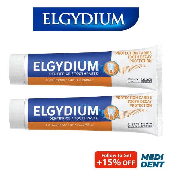 Buy ELGYDIUM ADULT CARIES PROTECTION TOOTHPASTE 75ML [BUNDLE OF 2] Singapore