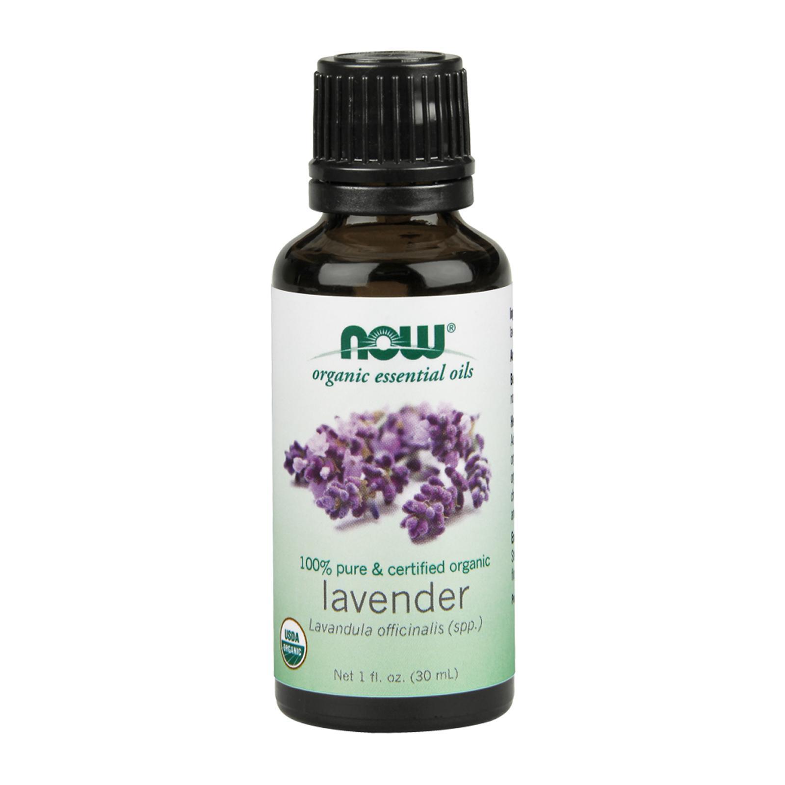 Now Foods Organic Essential Oils Lavender 1 Fl Oz (30 Ml)