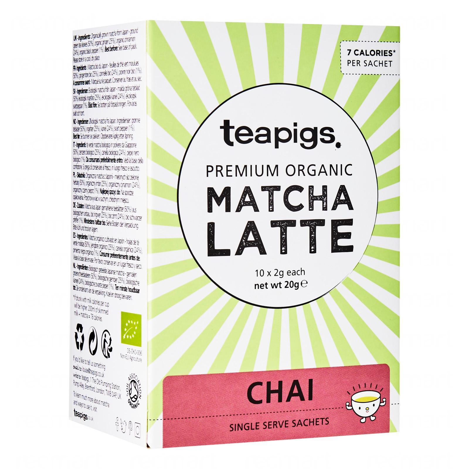 Teapigs Japanese Matcha Chai Latte