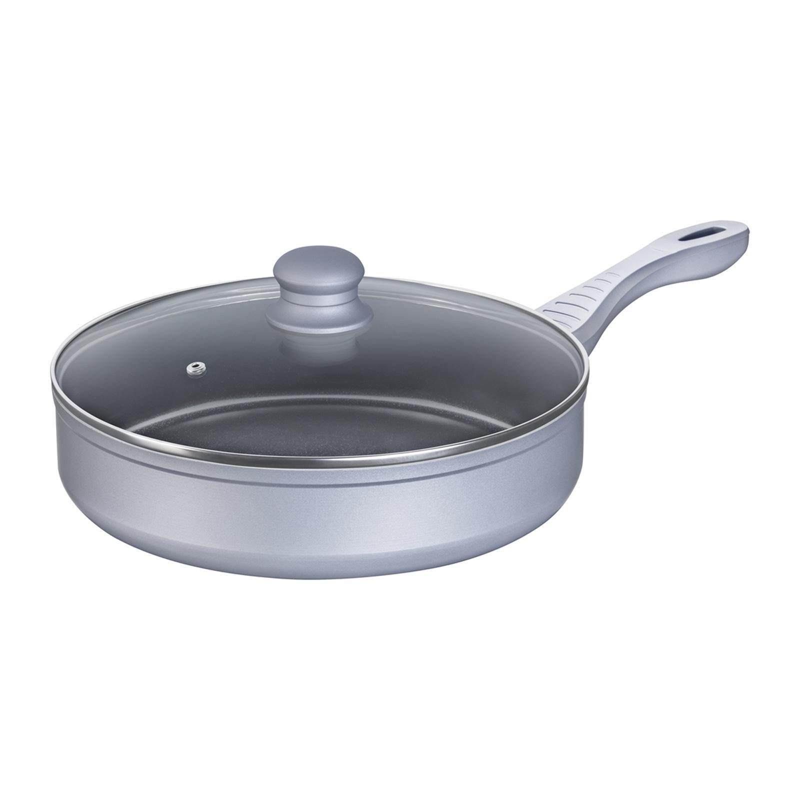 Lamart Ceramic Pan With Lid 28CM Silver