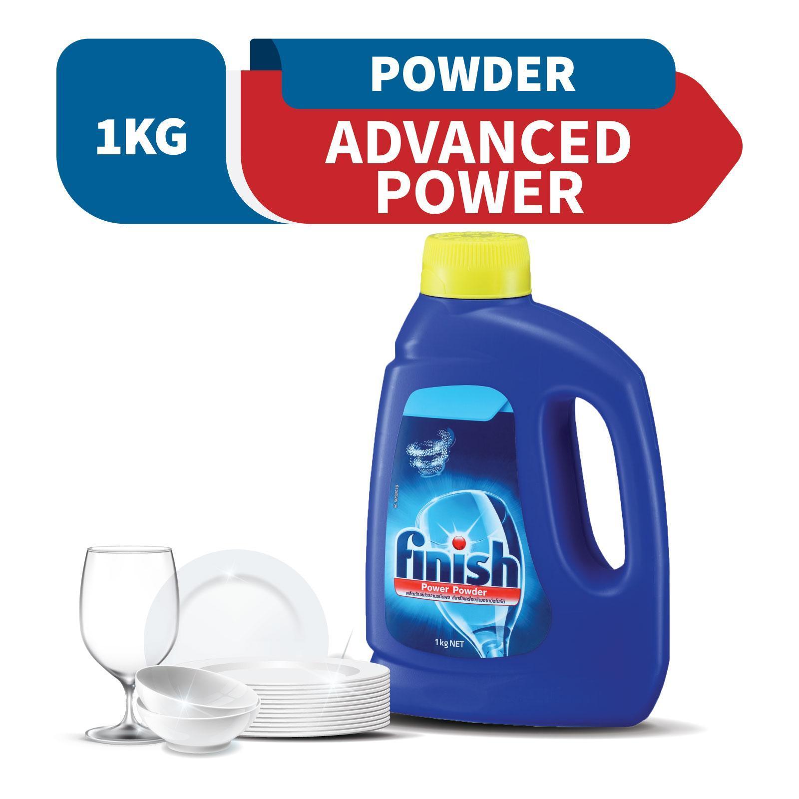 Finish Advanced Power Powder Detergent Dishwasher