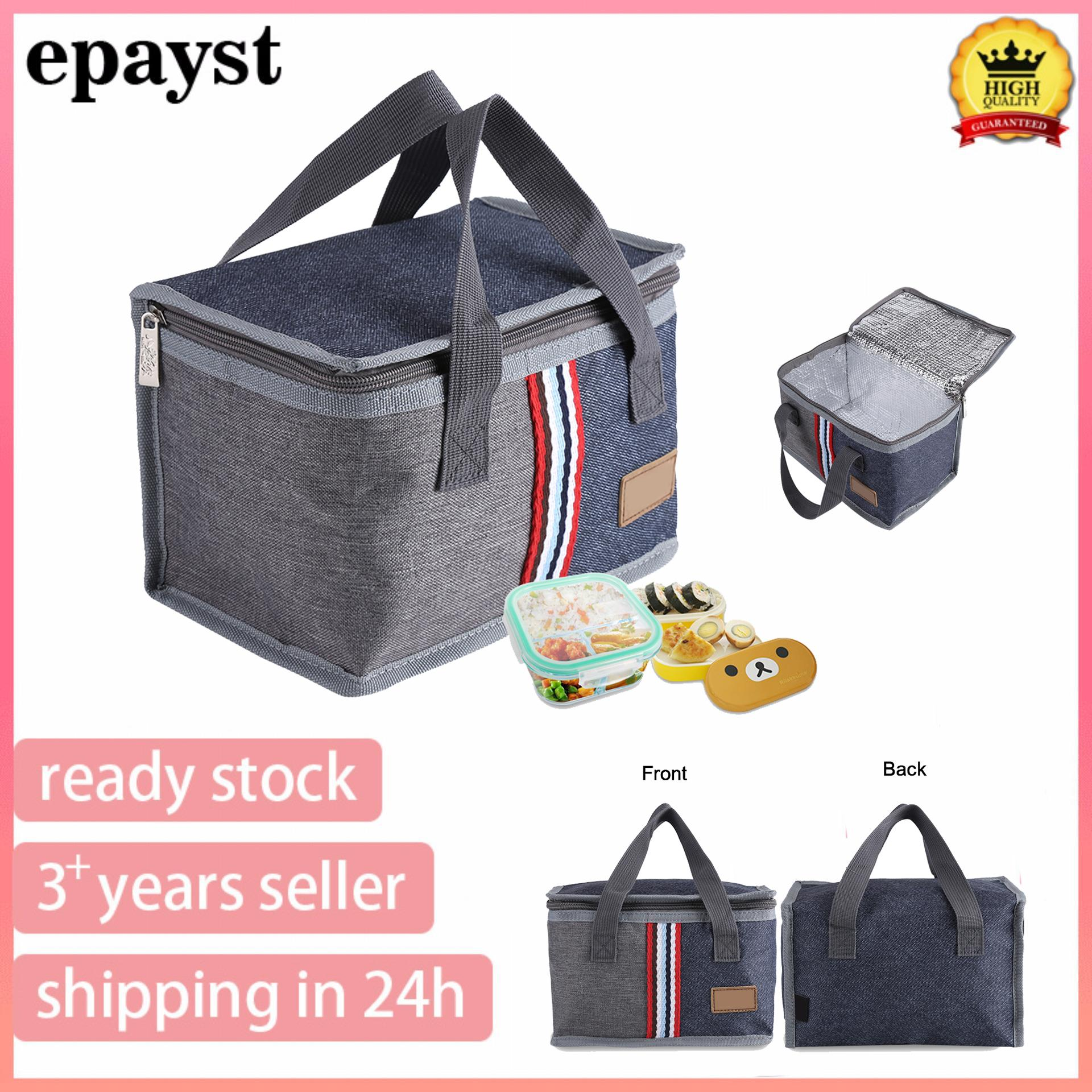 b6c015c3a epayst HOT+Recommended Portable Insulated Thermal Cooler Lunch Storage Food  Box Bag Case