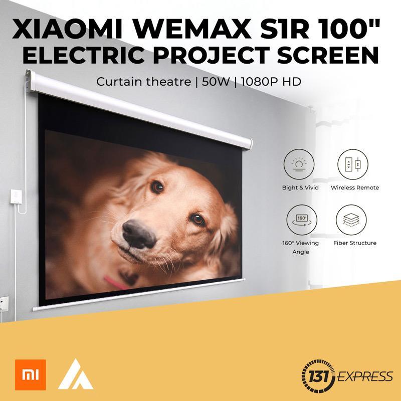 "Xiaomi Wemax S1R 100"" Electric Projector Screen"