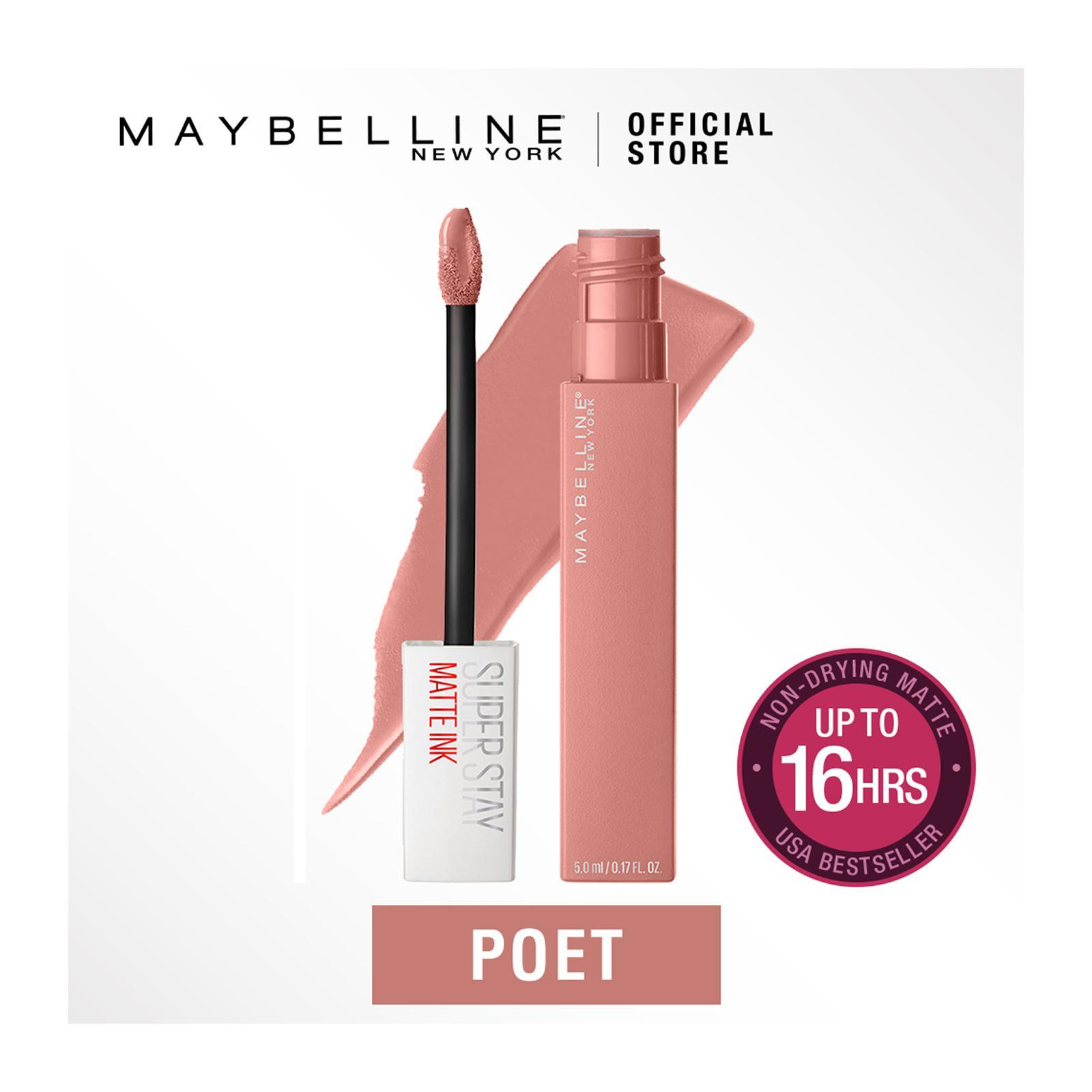 Maybelline Superstay Matte Ink Un-Nudes Poet