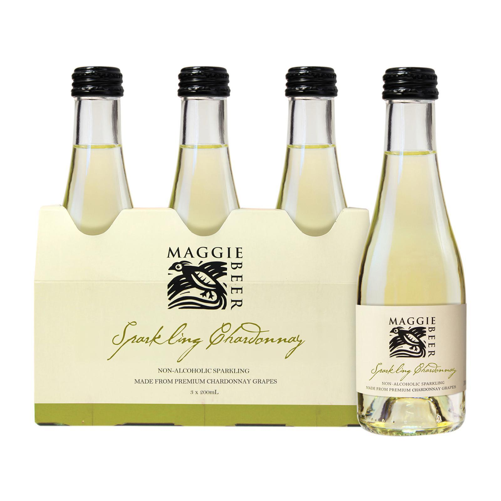 Maggie Beer Sparkling Chardonnay 3 Pack Piccolo 600 ML