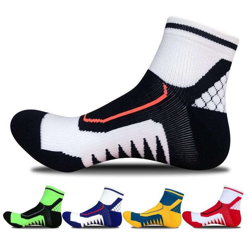 5bfc23e9e0c 5Pairs set New Men s Sports Socks Men Hiking Running Basketball Football  Cycling Socks Men Breathable