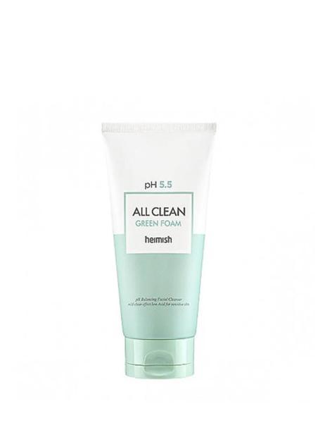 Buy Heimish All Clean Green Foam Cleanser (150ml) Singapore