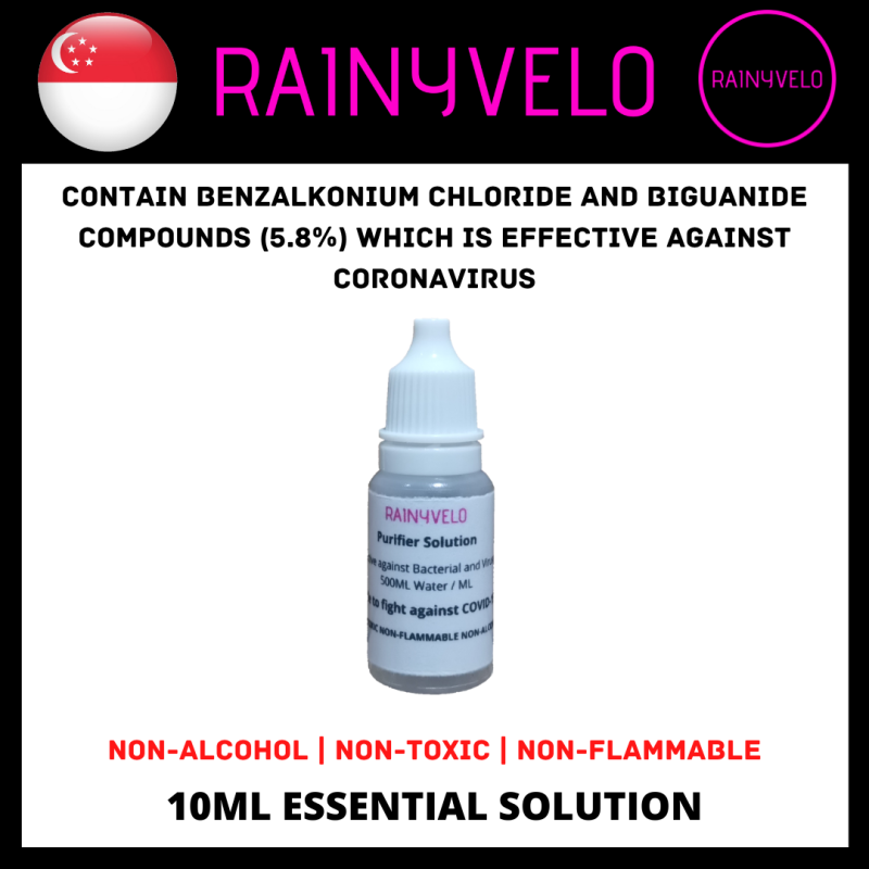 Buy 🇸🇬 10ML Air Purifier Essential Oil Solution ➠ Non-Alcohol ➠ Kill 99.99% Viruses & Bacteria ➠ Diffuser / Humidifier / Neubulizer / Air Purifier Singapore