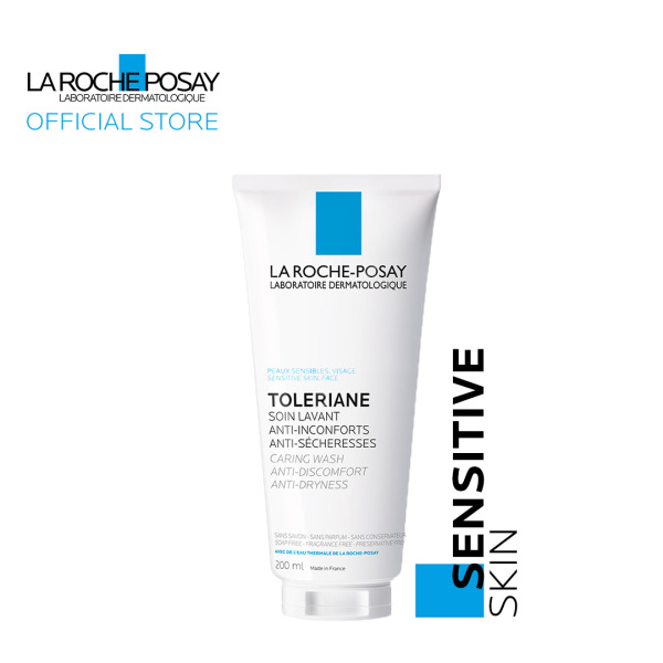 Buy La Roche-Posay Toleriane Cleanser Caring Wash 200ml [Normal-Dry Sensitive Skin] Singapore
