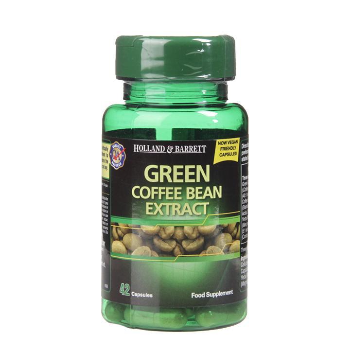 Holland Barrett Green Coffee Bean Extract 42 Capsules