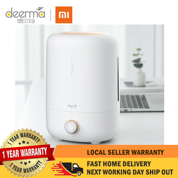 【 1 Year Local Warranty】DEM - F725 Mute Household Large Capacity Humidifier【XIAOMI Deerma】 Singapore