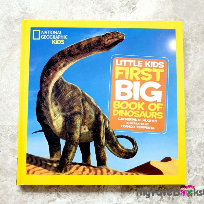 [SG Stock] National Geographic Kids Little Kids First Big Book of Dinosaurs