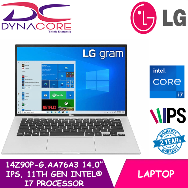 [READY STOCK] DYNACORE - LG GRAM 14Z90P-G.AA76A3 | 14Inch | INTEL CORE i7 1165G7 | 16GB RAM | 512GB SSD | WIN 10 HOME