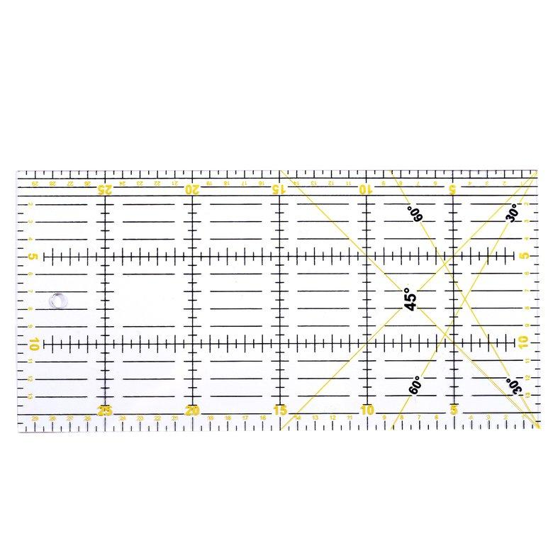 HORI Patchwork ruler cutting special ruler 30cm*15cm thickness 3mm hand tool