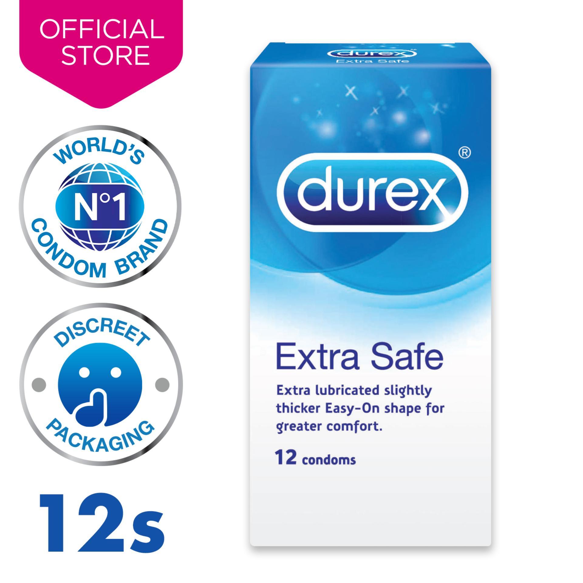 Durex Extra Safe Condoms 12s By Durex.