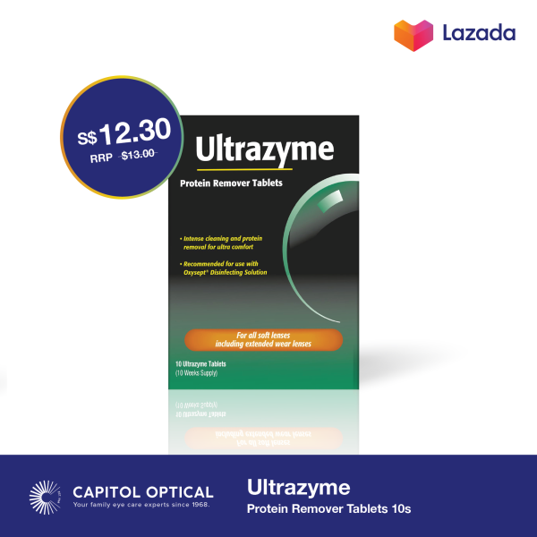 Buy Ultrazyme Protein Remover Tablets 10s Singapore